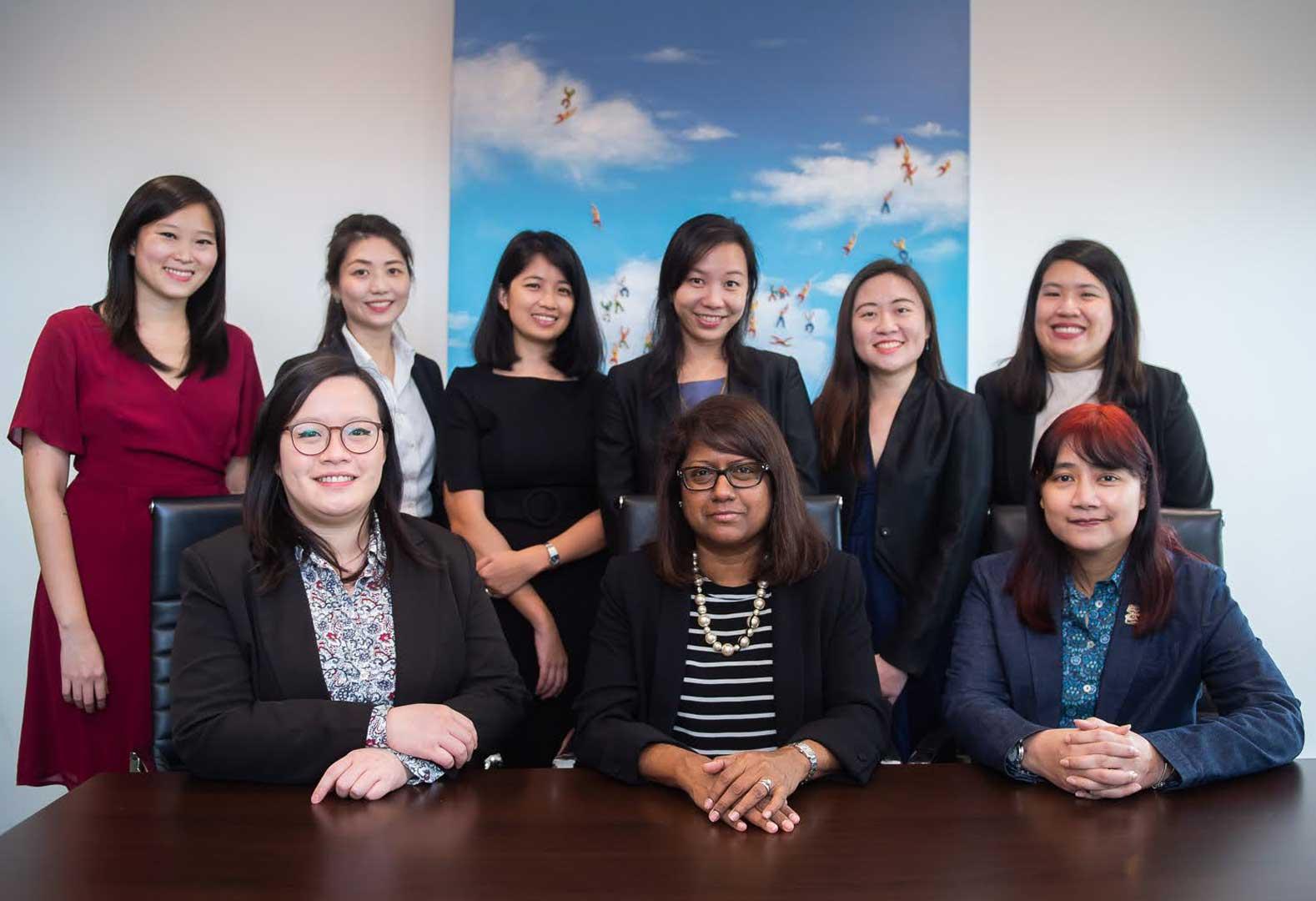 divorce lawyer team