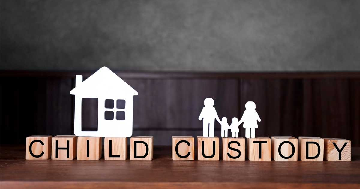 factors determining child custody