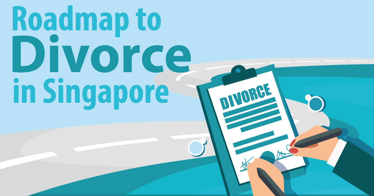 Infographic: The Route to Divorce in Singapore