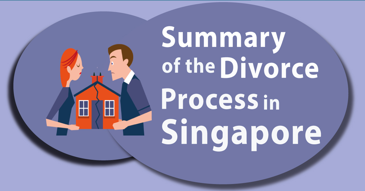 Infographics: Summary of the Divorce Process in Singapore